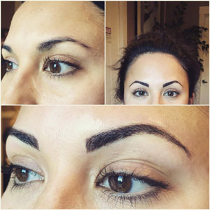 Blended Brow Tattooing